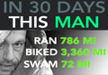 Thirty Ironmans in 30 days!