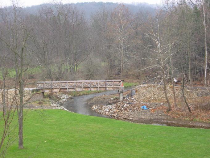 Deer Creek bridge damage